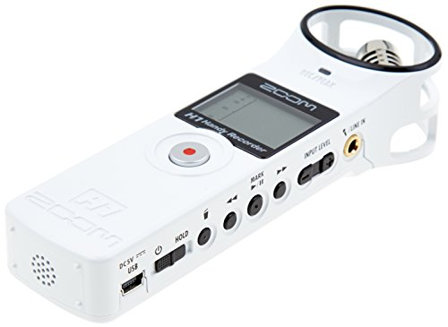 Bargain Zoom H1 Handy Recorder White Special