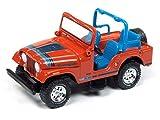 Johnny Lightning Jeep CJ-5 Renegade Mandarin Orange 1:64