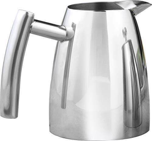 Caterado 306-031 Cambridge - Zuccheriera e coltello per latte, in acciaio INOX, colore: Argento