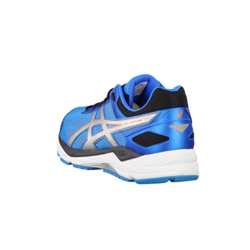 Asics Herren Laufschuhe Gel-Fortitude 7 T5G2N Blue Jewel/Silver/Flame Orange