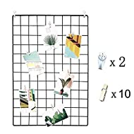 Are you tired of your old grid panel? Now here is your good choice.Features:Our photo holder makes a clever way to display your photos and keep your treasured memories '. This wall for room decor makes your life colorful.Hang it on the wall of your r...