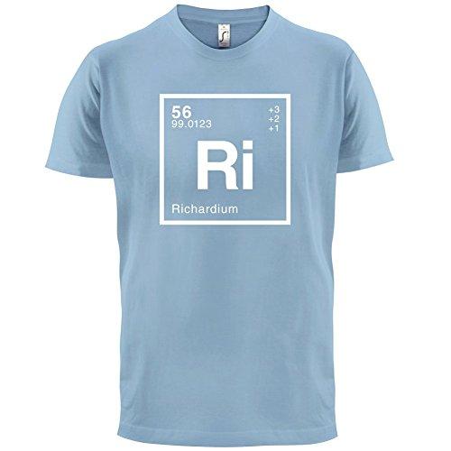 Richard Periodensystem - Herren T-Shirt - 13 Farben Himmelblau