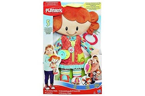 Hasbro - Muñeca de Playskoolpara aprender a vestirse, para niños, Lucas/Louise, modelos surtidos