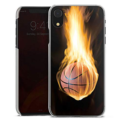 DeinDesign Apple iPhone Xr Hülle Case Handyhülle Basketball Fire Feuer