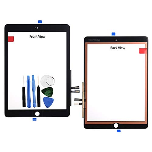 BisLinks®® Für iPad 9.7 2018 Touch Screen Digitizer Glas Panel Black 6th GEN A1893 + Tools -