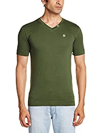 United Colors of Benetton Pack of 1 V- Neck Tshirt