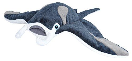 - Cuddlekins AQ Plüsch Manta Rochen, 35 cm (Aufblasbare Mini Fische)