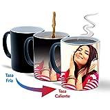Taza mágica Personalizada con Fotos y Texto | Taza de cerámica Que Muestra tu Foto o diseño Cuando se Caliente