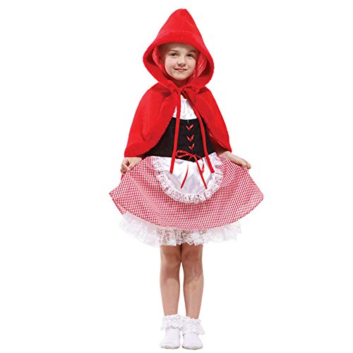 KTYX Halloween Kostüme Für Kinder Kostüme Fairy Kostüme Cute Little Red Riding Hood Reiten Frauen Halloween Kleider (größe : XL) (Kinder Little Red Riding Hood Kostüme)
