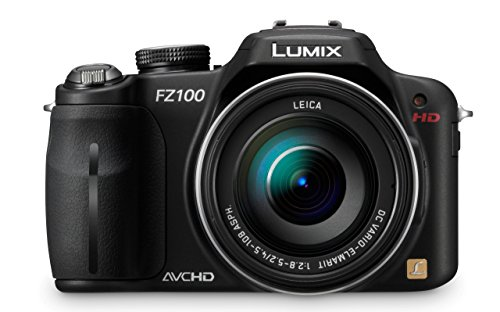 Panasonic Lumix DMC-FZ100 14,1 MP Digitalkamera mit 24-Fach optischem Bildstabilisator, 3,0 Zoll LCD-Display, Schwarz Panasonic Lumix Digital Slr