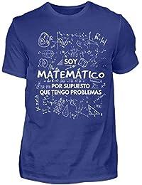 Shirtee Soy Matemático - Tengo Problemas - Camiseta de Hombre