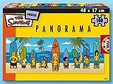 Educa Borras 13482 Puzzle 200 Panorama Simpsons
