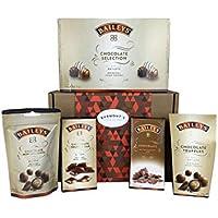 Cesta Cioccolatini Baileys Premium - Include Scatola Selezione Cioccolatini, Tartufi, Mini Delizie, Cioccolato Caramello Salato E Tartufo - Cesta In Esclusiva Per Burmont's