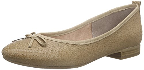 Tamaris 22105, Ballerines fermées femme Marron - Braun (PEPPER STRUCT. 389)