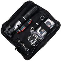 deanyi - Kit de Herramientas de reparación de pinchazos para neumáticos de Bicicleta con Bomba y