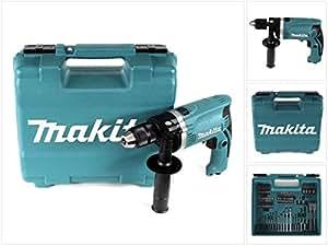 Makita Schlagbohrmaschine im Koffer, 710 W inklusiv 74
