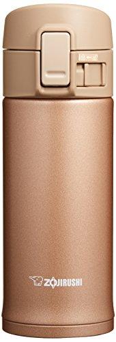 Zojirushi, borraccia in acciaio Inox SM-KC36/48, Acciaio inossidabile, Rose Gold, 360
