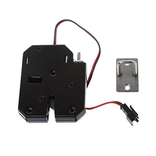 BIlinli 150KG / 330lb Elektromagnetverschluss Tür Zugangskontrolle DC 12 V Schubladen...
