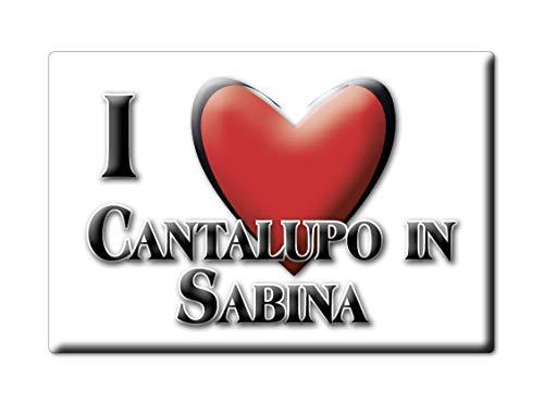 PO IN Sabina (RI) Souvenir Lazio Fridge Magnet KÜHLSCHRANK Magnet ICH Liebe I Love ()