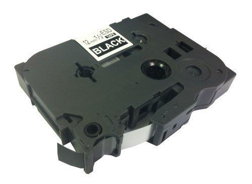 Eseller Direct® - Nastro per Etichette di Ricambio TZ335 per Brother P-Touch PT1290BT2 - 12mm (Esd Bottiglia)