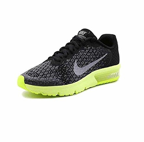 Nike NIKE AIR MAX SEQUENT 2 (GS) Größe 35.5 Schwarz (schwarz) (Nike Air Max Jungen, Größe 2)