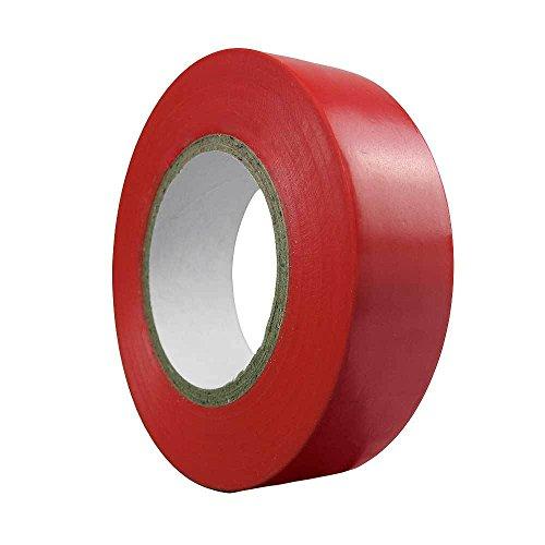 Wolfpack 14060065 - Cinta aislante de uso doméstico, color rojo