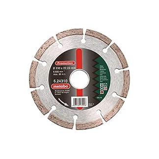 Metabo 624310000 624310000-Disco de Diamante SP para Uso General 230 x 22,23 mm Altura segmento 7 mm, 230×22.23mm