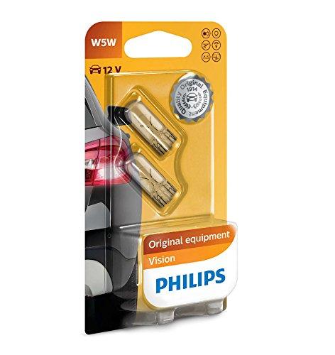 Philips 01012961B2 Philips-W5W Standard 12V 5W W2,1X9,5D