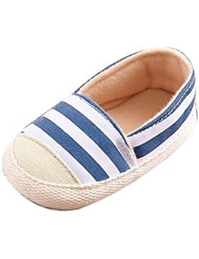 Babyschuhe Longra Niedlich Baby Säugling Junge Mädchen weiche Sohle Leinwand Sneaker Kleinkind Schuhe Lauflernschuhe...