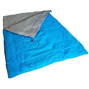 Kingfisher Unisex OLSB2 Double Polyester Camping Sleeping Bag, Blue, NA