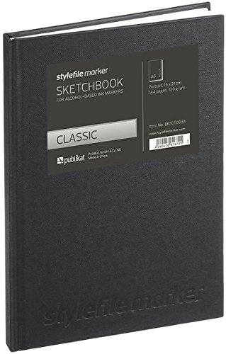 Stylefile Marker Classic Skizzenbuch Din A5 vertikal -