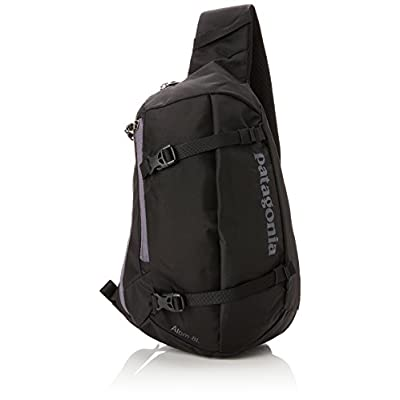Patagonia Unisex Atom Sling Backpack, Black, 35 x 23 x 12 cm/8 Litre - hiking-backpacks