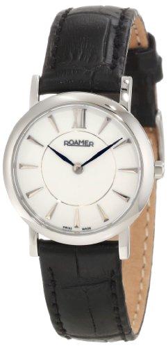 ROAMER OF SWITZERLAND 934857 41 25 09 - Reloj de Pulsera Mujer, Color Negro