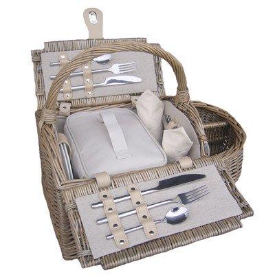 Doppelt verschließbare 2Personen Boot Picknick-Korb