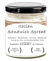 Jimmys Gourmet Kitchen (Sandwich Spread Italian)(Avocado Oil Parsley Rosemary Chives Oregano Basil)(Natural)(225g)