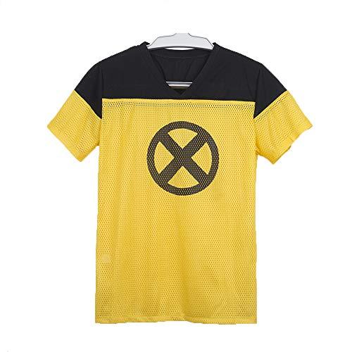 Yacn 2018 Film Deadpool T-Shirt, Deadpool Kurzarm Cosplay, -