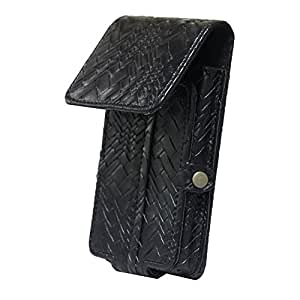 Jo Jo A6 Bali Series Leather Pouch Holster Case For HTC Desire 616 Black