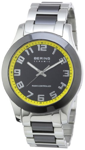 Bering Time Herren-Armbanduhr XL Ceramic Analog Quarz verschiedene Materialien 33041-727