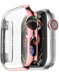 Cooljun Ultra Thin PC Plating Bumper Case Cover for Apple Watch 4 40 mm