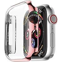 Cooljun Für Apple Watch 4 40mm Hülle, Ultra dünn PC Plating Cases Schutz Stoßstange Hüllenabdeckung Schutzhülle Rundherum Schutz Schlankes Case