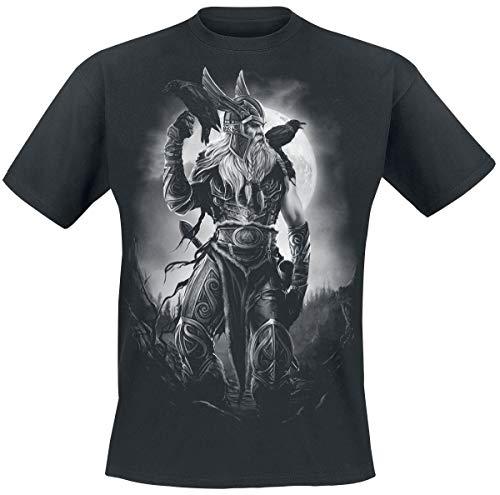 Toxic Angel Odin T-Shirt schwarz L