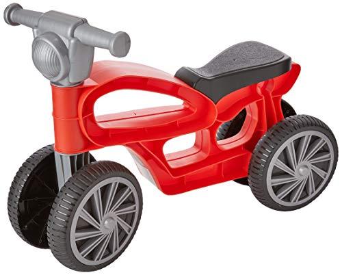 Chicos- Correpasillos con 4 Ruedas, Color Mini Custom roja (Fábrica de Juguetes 36006)