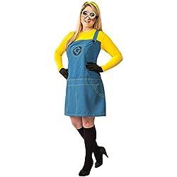 Disfraz de Minion Gru mi villano favorito para mujer talla grande