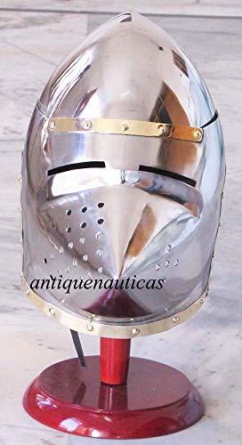 Shiv Shakti Enterprises Mittelalterliches Sammlerstück Centurion Vintage Spartan Helm Rüstung Halloween Kostüm Geschenk
