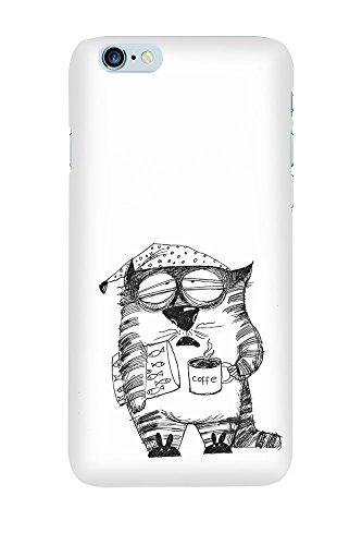 iPhone 4/4S Coque photo - Cat café