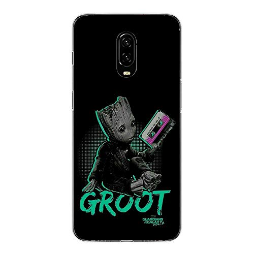 6T Case,Flexible Slim Silicone TPU Protector Cover Soft Thin Gel Skin for OnePlus 6T-Cute Baby Groot Silicon Case Protector Cover
