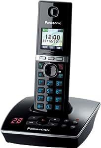 Panasonic KX-TG8061 Téléphones Sans fil Répondeur Ecran