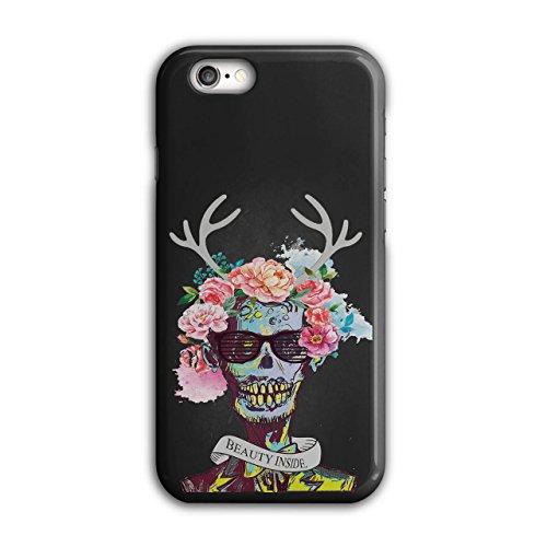 Blume Zucker Schädel Zombie Seele Kostüm iPhone 6 / 6S Hülle | Wellcoda (Thriller Zombie Kostüm)