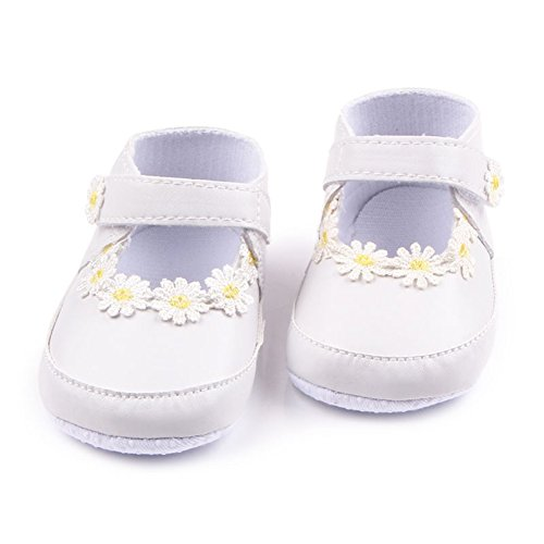 leap frog  Flower Mary Jane, Baby Mädchen Lauflernschuhe Weiß