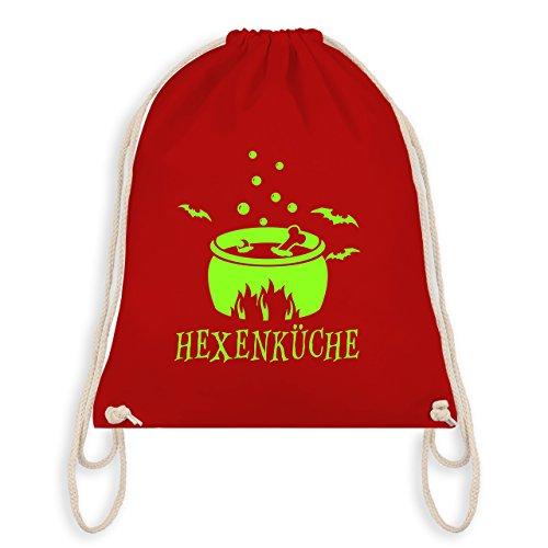 Halloween - Hexenküche - Unisize - Rot - WM110 - Turnbeutel & Gym Bag